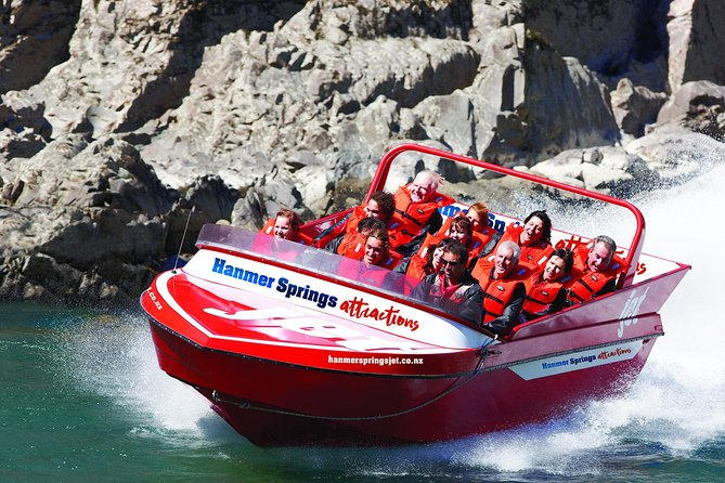 Hanmer Springs Jetboat and Quad Biking combo