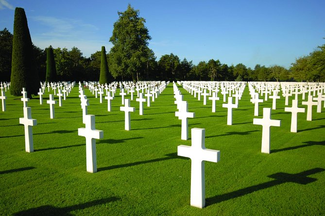 American & British D-Day Beaches Half Day Tour from Bayeux