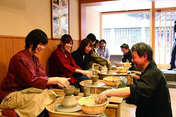 Japanese Pottery Lesson in Kyoto