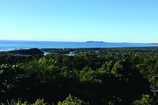 Byron Bay och Surrounds Tour inklusive Brunswick Heads River Cruise och Crystal Castle