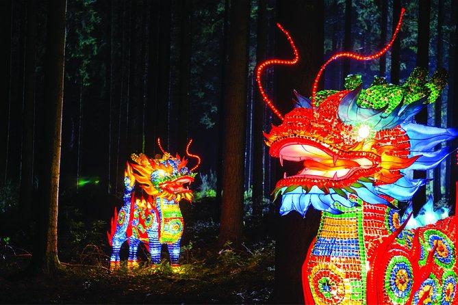 Qilin dragons at Lumination