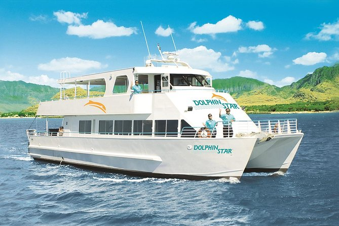 Oahu Wild Dolphin Watching Cruise og Snorkel med frokost