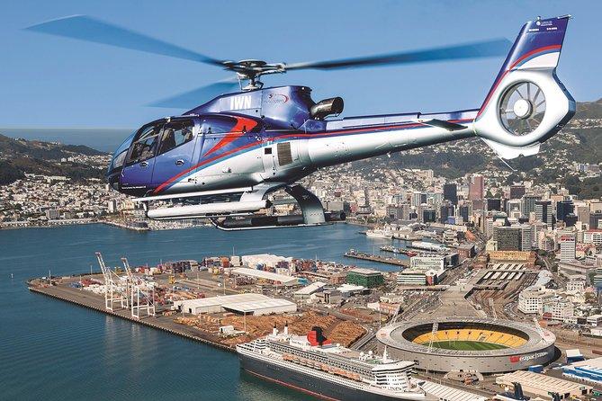 Vuelo en Helicóptero Discovery de la Costa Sur de Wellington