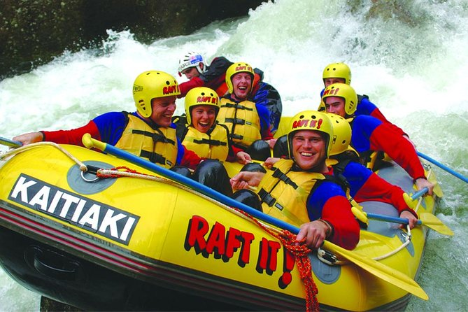 Tauranga Shore Excursion: White Water Rafting Adventure