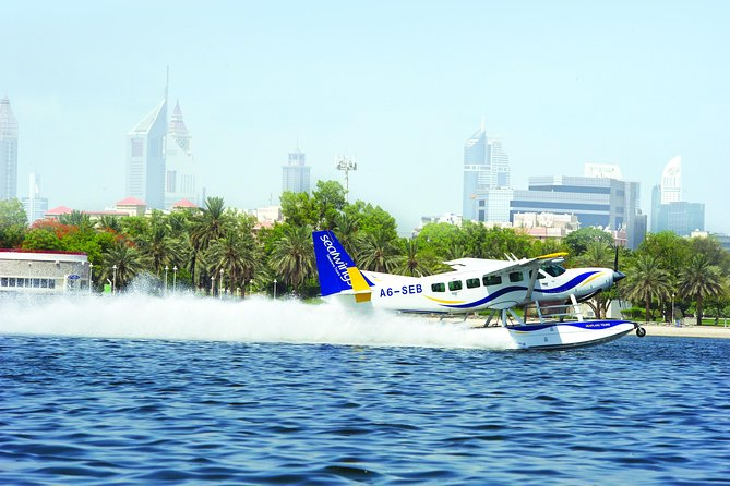 Seaplane Tour to Dubai from Abu Dhabi and Private Heritage Tour