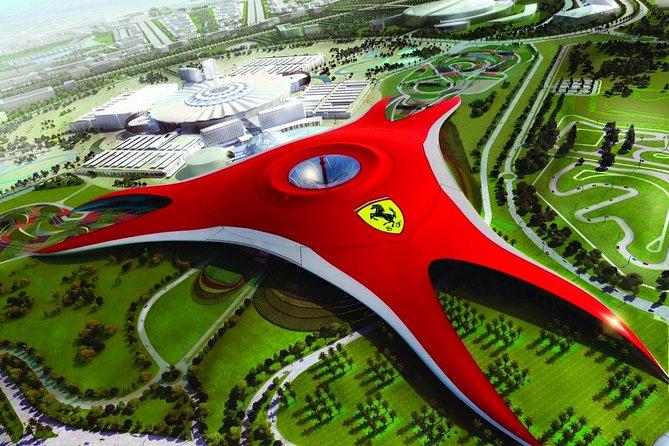 Full Day Abudhabi City Tour Including Ferrari World Theme Park TKT