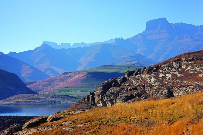 Drakensberg Mountain Range and Nelson Mandela Capture Site Day Tour from Durban