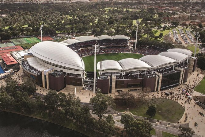 Adelaide City Tour Including Behind the Scenes Adelaide Oval Tour