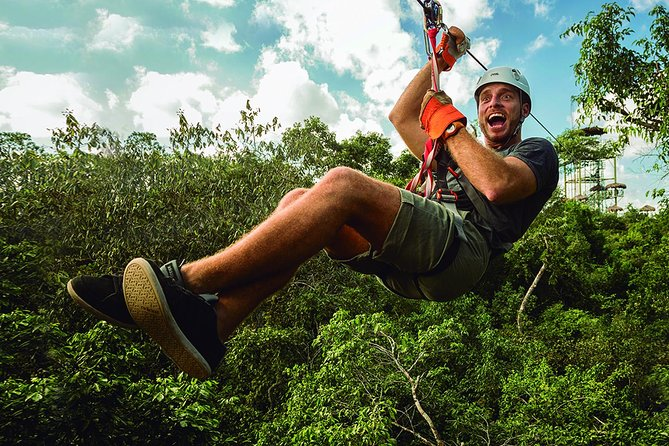 Selvatica Adventure Park: Ziplines and Cenote Tour from Cancun and Riviera Maya