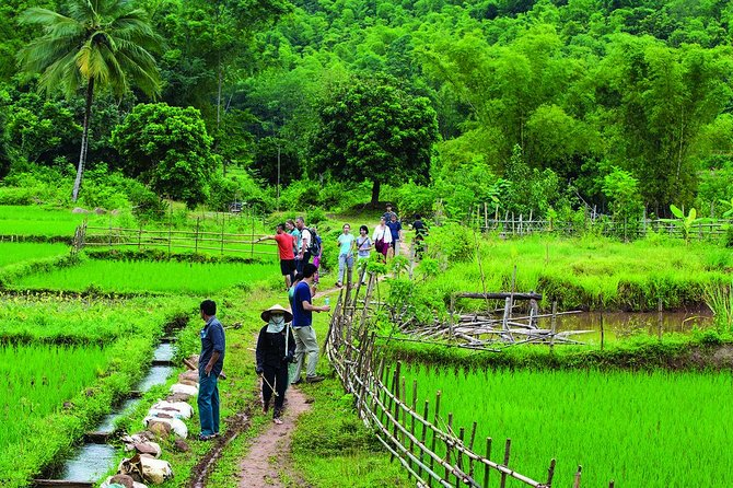 Mai Chau 2 days 1 night visiting, biking Buoc village depart from Hanoi Center
