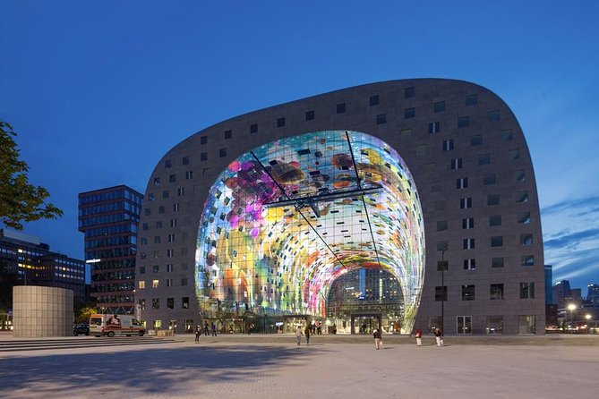 Rotterdam: Markthal Tour, Meet & Taste and Rooftop Oldest Skyscraper