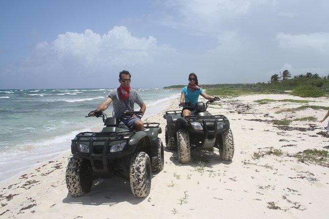 ATV Seashore Combo: Adventure to Mezcalitos plus Optional Snorkeling at Playa Uvas