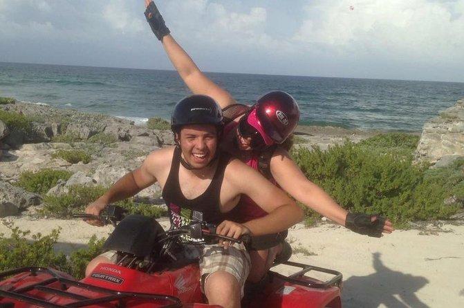 ATV Off-Road Adventure i Cozumel med valgfri snorkling på Playa Uvas