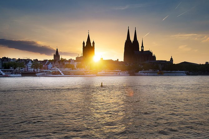 Rhine River Evening Panorama Cruise in Cologne