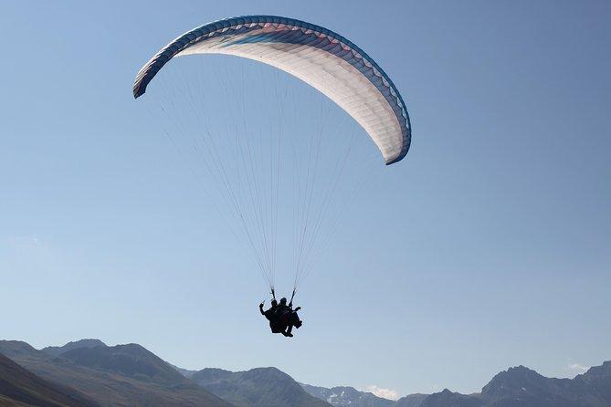 Davos Absolutamente libre vuelo en parapente vuelo en tándem 1000 metros de altura
