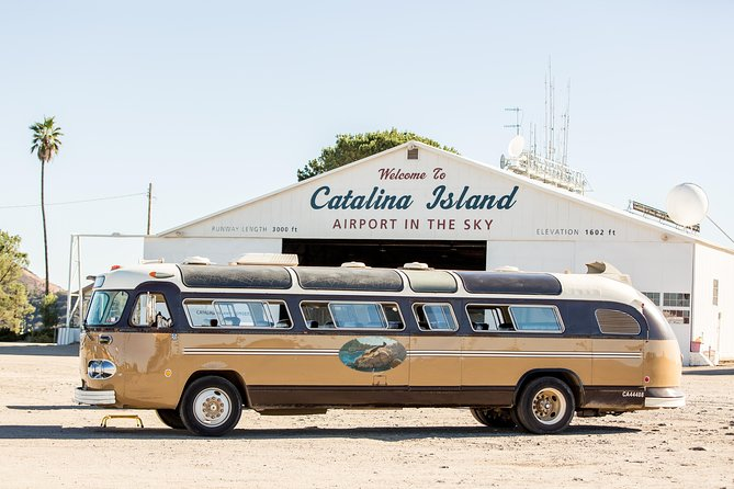 Journey to the Sky: Catalina Bus Tour