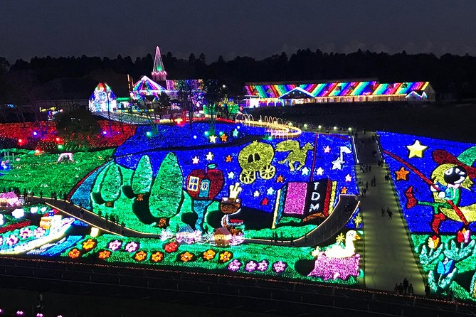 Family-friendly Night Tour for Big Lighting Decorations in Tokyo-German Village