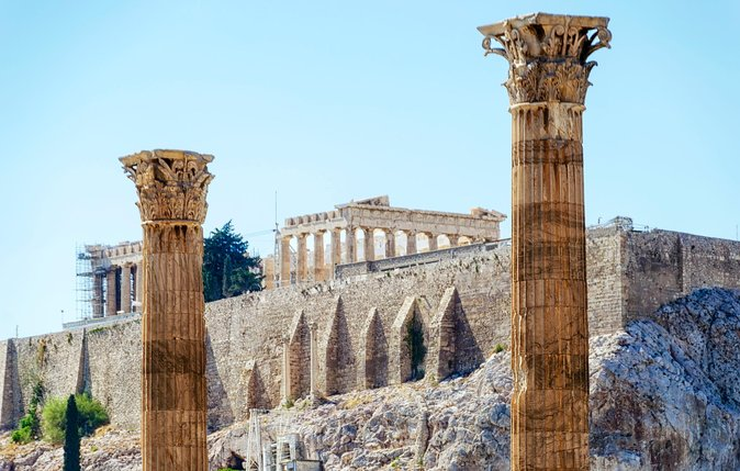 Athens Semi-private tour. A Segway journey. The ancient past, the modern present