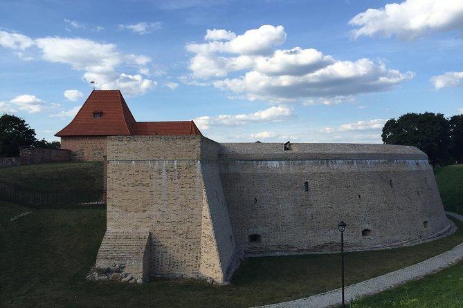 Le billet d'entrée au mur défensif du bastion d'artillerie de Vilnius