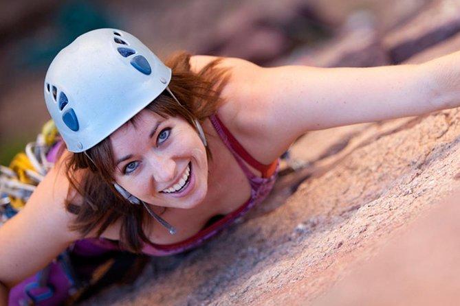 Utomhus Rock Climbing Taster Day i Peak District