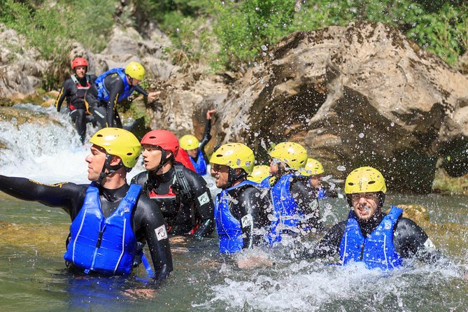 Basic Canyoning on Cetina River from Split or Zadvarje