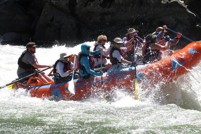 Riggins Idaho 1-day Rafting Trip on the Salmon River