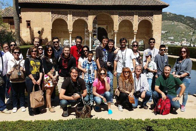Evite as filas: excursão no Palácio de Alhambra com visita aos Jardins Generalife