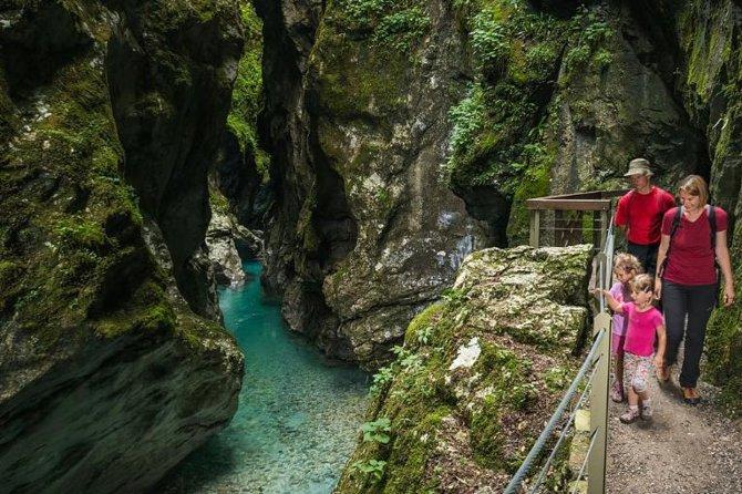 Tolmin Gorge Triglav National Park Entrance Ticket