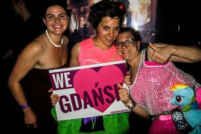 Gdansk Pub Crawl with Free Drinks