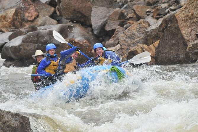 Numbers Half-Day Whitewater Rafting plus Cliffside Zipline from Buena Vista