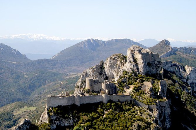 30 Minutes Cathar Castles Tour by Helicopter