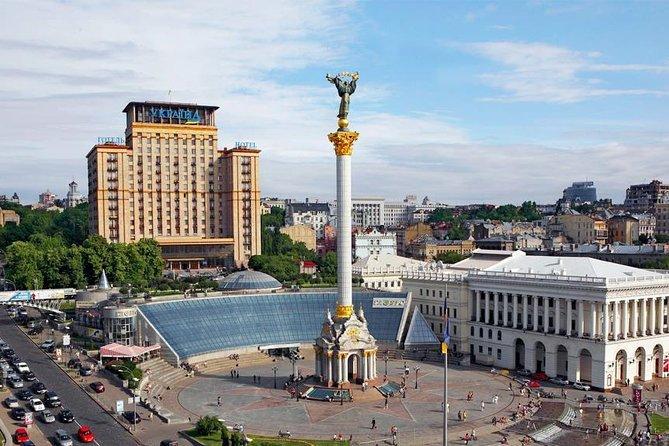 Kleinschalige groepswandeltocht door het centrum van Kiev