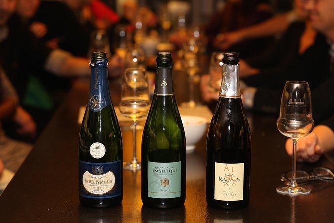 Paris Champagne Tasting for Foodies