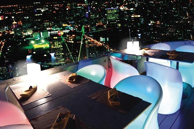 Abendessen im Bangkok Balcony bei Baiyoke Sky