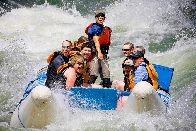 Full-Day Thompson River Motorized Rafting Tour with Lunch
