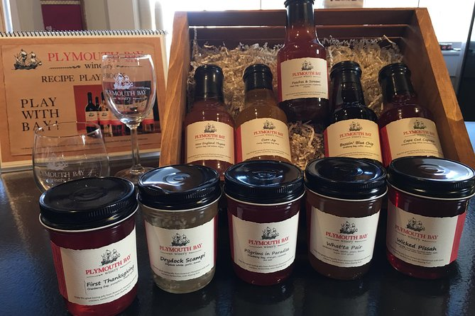 Wine and Wine Jelly-Sauce Tasting on Plymouth Bay