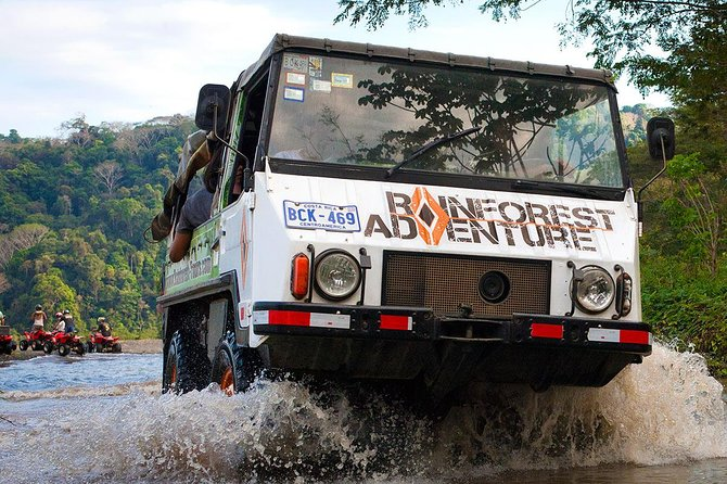 4x4 Rainforest Adventure Booze Safari