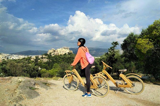 Athens Wooden Bike Tour with Greek Tapas