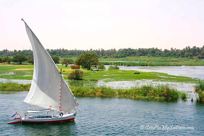 Felucca Ride sailing on the Nile in luxor