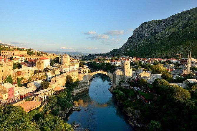Smiley Mostar, Pocitelj and Kravice Waterfalls Private Tour from Dubrovnik