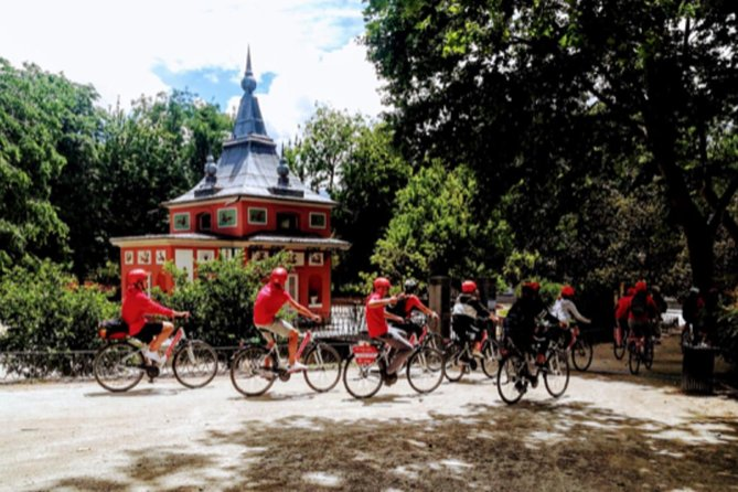 """Bike Tour- Madrid Retiro Park (Only Retiro Park) , """"MISTERY & SECRETS"""