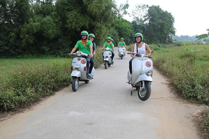 Hanoi Vespa Tour Explore Red River Delta & Rural Villages 5 Hours