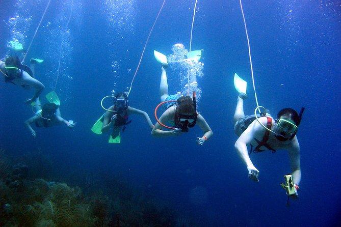 SNUBA St Lucia Underwater and Beach Adventure on Pigeon Island