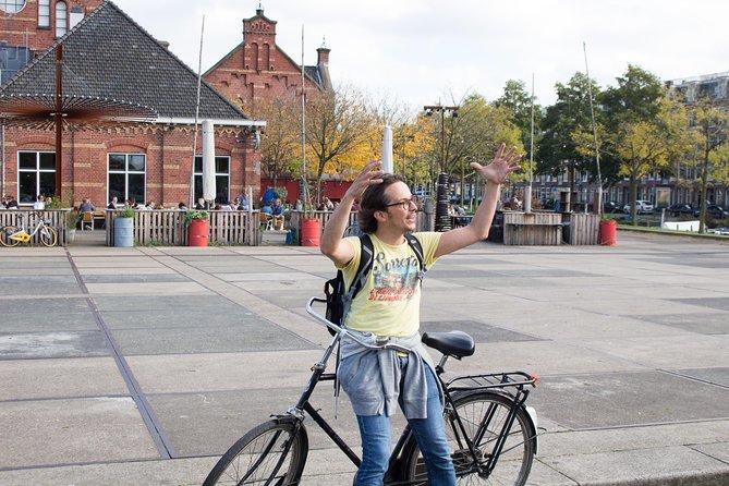 Explore hidden art and culture in Amsterdam by bike