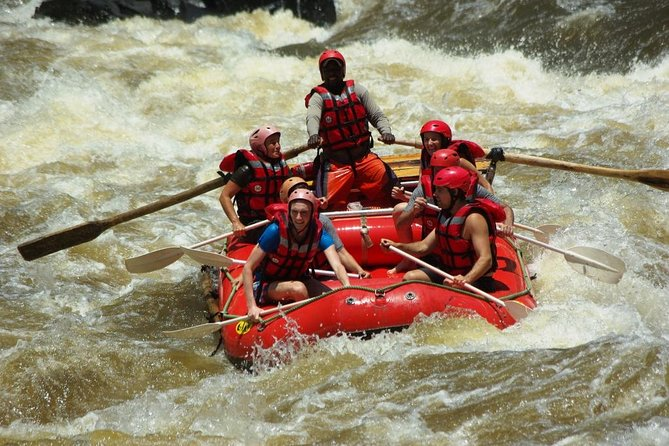 White Water Rafting High Water Tour in Zambia