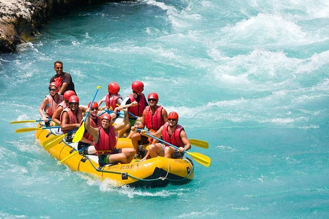 Koprulu Canyon Whitewater Rafting with Lunch From Belek