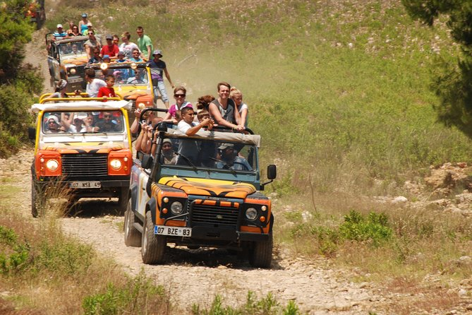 Full-Day Tour With Jeep Safari and White-Water Rafting from Alanya