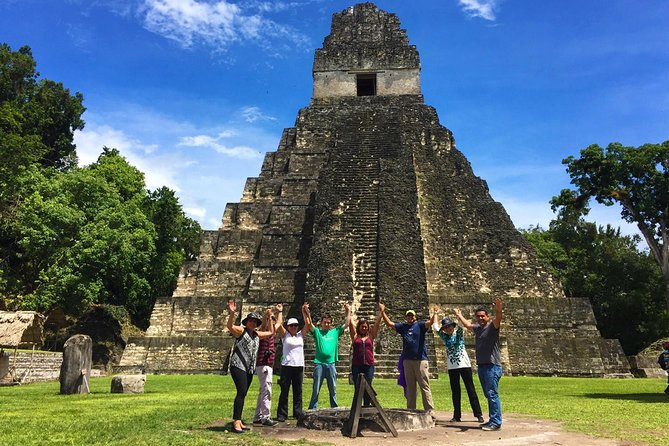 UNESCO JEWELS: Tikal One Day Tour from Guatemala City by air