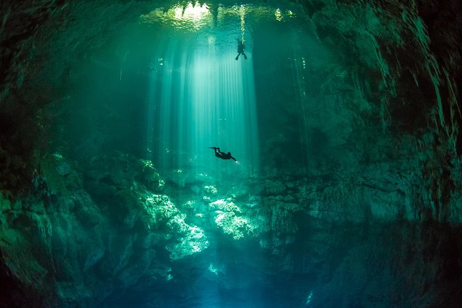 2 cenote divings (including one deep diving) for advanced divers in Tulum