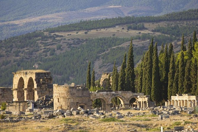 Pamukkale Hot Springs and Ancient City of Hierapolis with Lunch photo 8